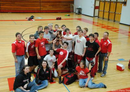 Wrestling Team 2011-2012 Akey Duals